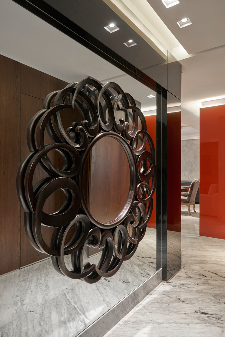 Pasillos, vestíbulos y escaleras de estilo moderno de Isabela Canaan Arquitetos e Associados Moderno