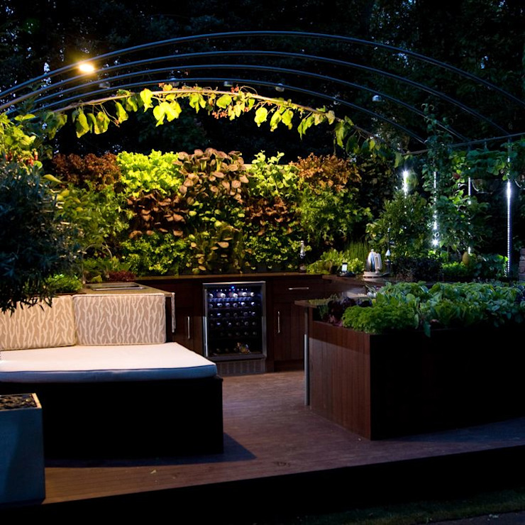 Freshly Prepped: Chelsea Flower Show 2009 Modern commercial spaces by Aralia Modern Wood Wood effect