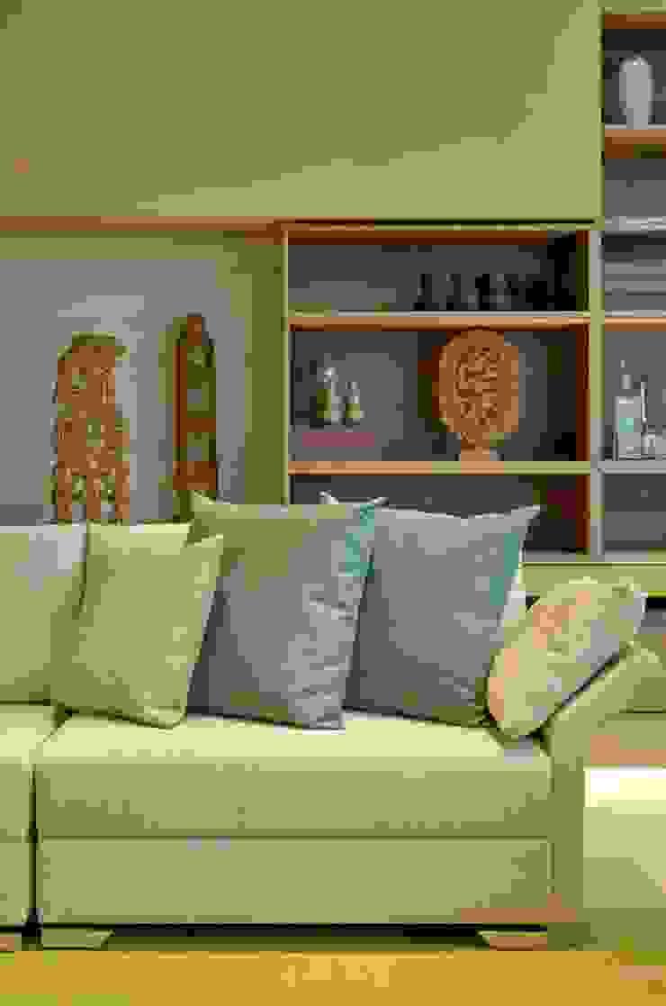 Decora Líder Belo Horizonte – Espaço Identidade Salas de estar modernas por Lider Interiores Moderno