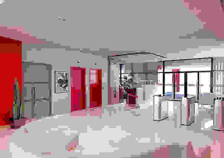 Galerías y espacios comerciales de estilo moderno de VR-9 Moderno