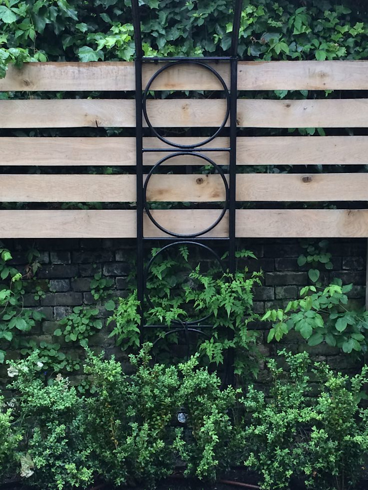 Regent's Park Terrace Aralia Classic style garden Wood Green