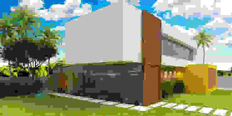 Residência Casas modernas por Estúdio Criativo Arquitetura e Interiores Moderno