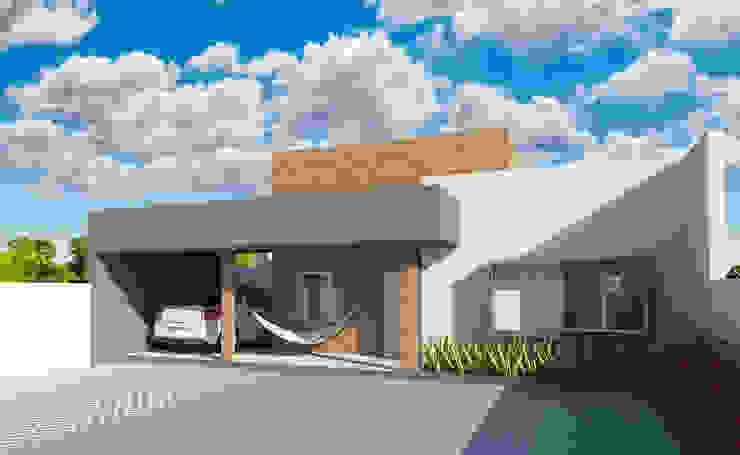 Casa de Praia Casas modernas por Estúdio Criativo Arquitetura e Interiores Moderno
