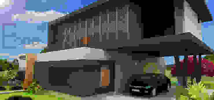 Residência Joinville Casas modernas por Estúdio Criativo Arquitetura e Interiores Moderno