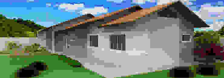 Residência no Rio Bonito (Joinville) Casas modernas por Estúdio Criativo Arquitetura e Interiores Moderno