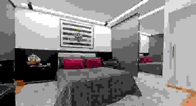 Apartamento no Bairro Belvedere Quartos modernos por Rosangela C Brandão Interiores Moderno