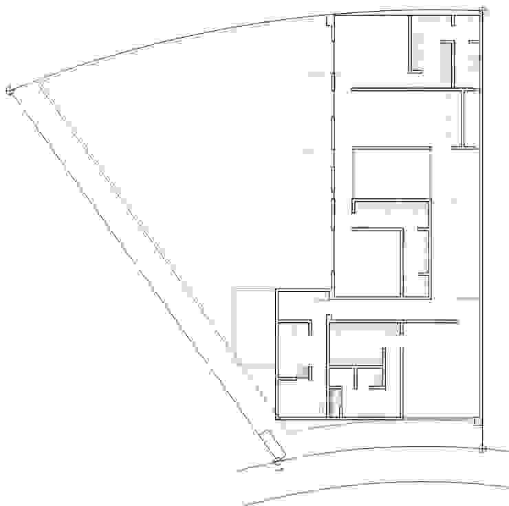 ทันสมัย  โดย ze|arquitectura, โมเดิร์น