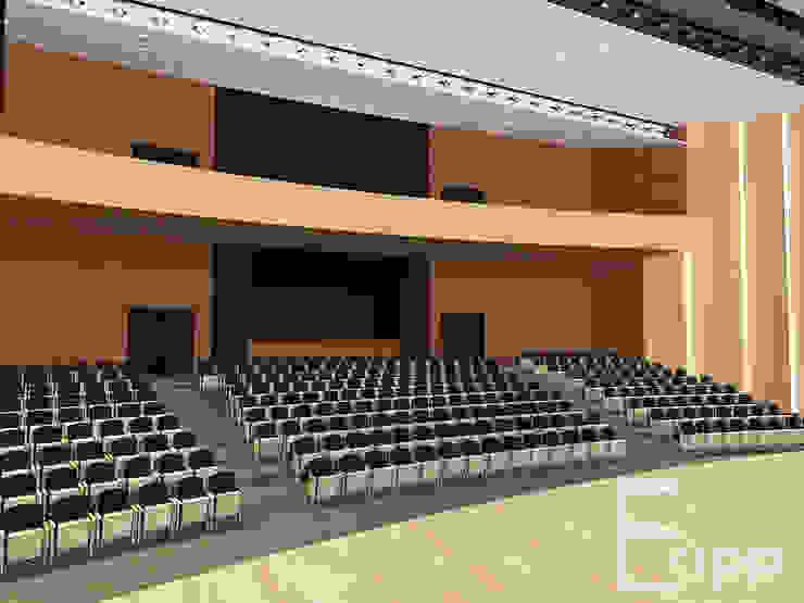 Centro Cultural de Joinville (Trabalho Acadêmico) Locais de eventos modernos por Estúdio Criativo Arquitetura e Interiores Moderno