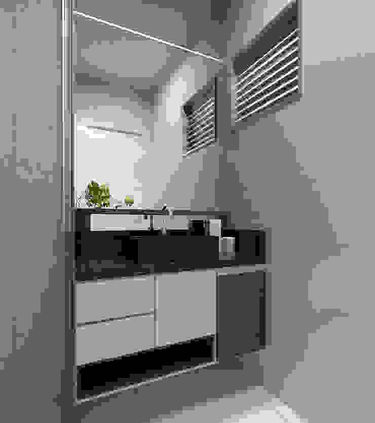 Apartamento Eduardo e Fernanda por Estúdio Criativo Arquitetura e Interiores Moderno