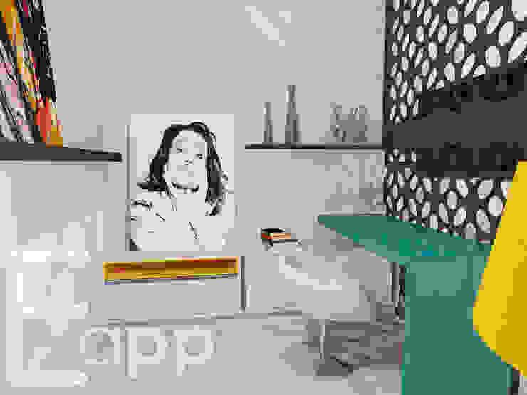 Quarto de Adolescente por Estúdio Criativo Arquitetura e Interiores Moderno