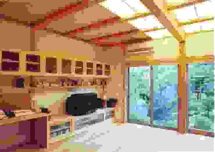 岸和田の家 モダンデザインの リビング の 株式会社 atelier waon モダン