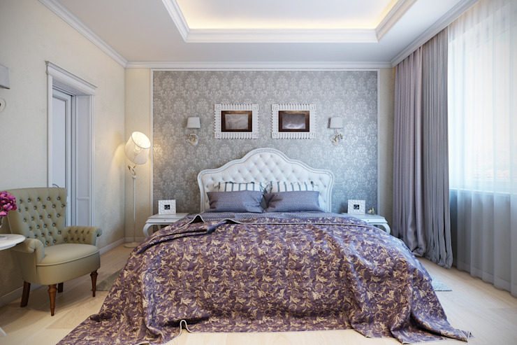Bedroom by Details, design studio, Classic
