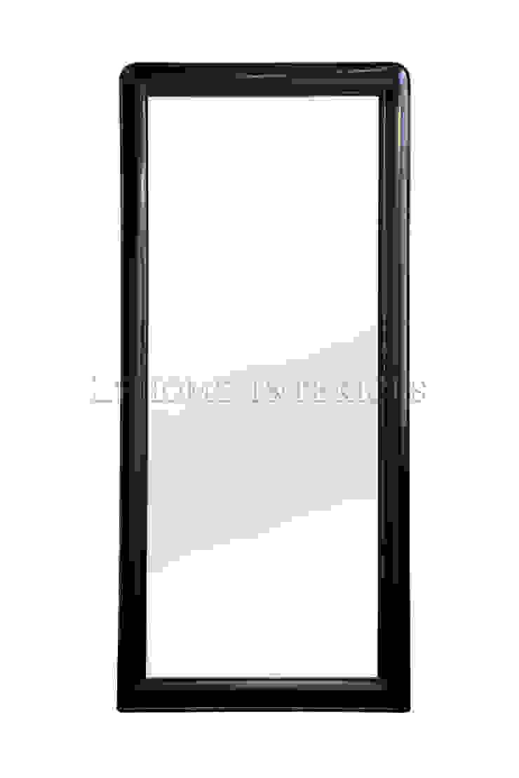 Зеркало M001:  в современный. Автор – LeHome Interiors, Модерн Дерево Эффект древесины