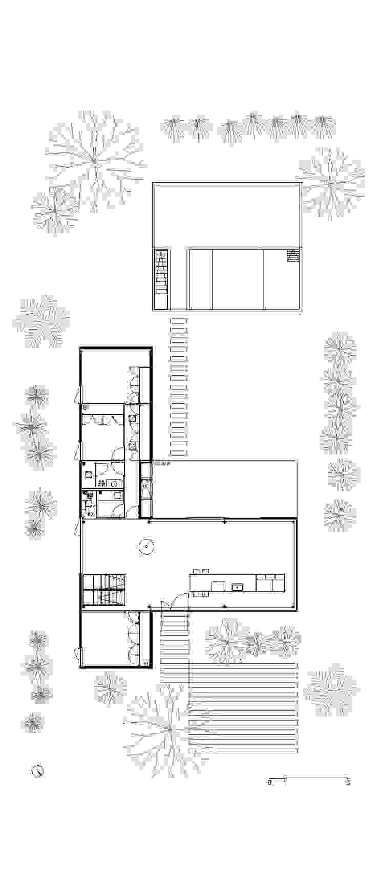 Casa Quintana Casas modernas: Ideas, imágenes y decoración de Federico Marino Moderno