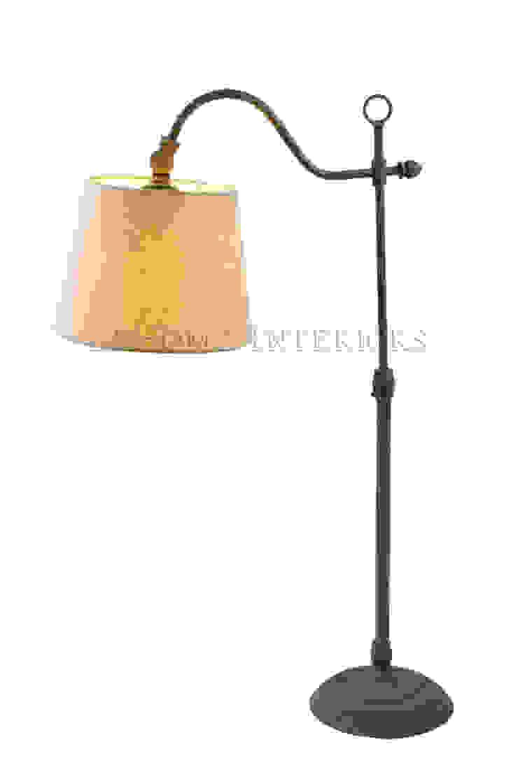 Настольная лампа F147 от LeHome Interiors Кантри Металл