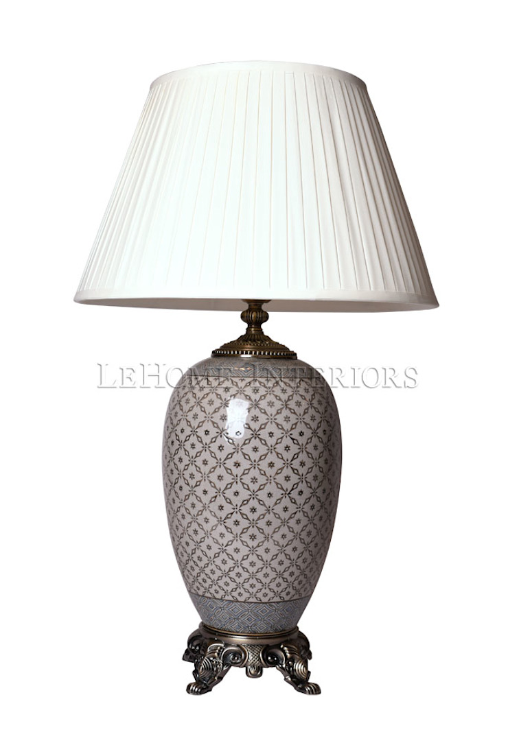 Лампа настольная F193 от LeHome Interiors Классический Керамика