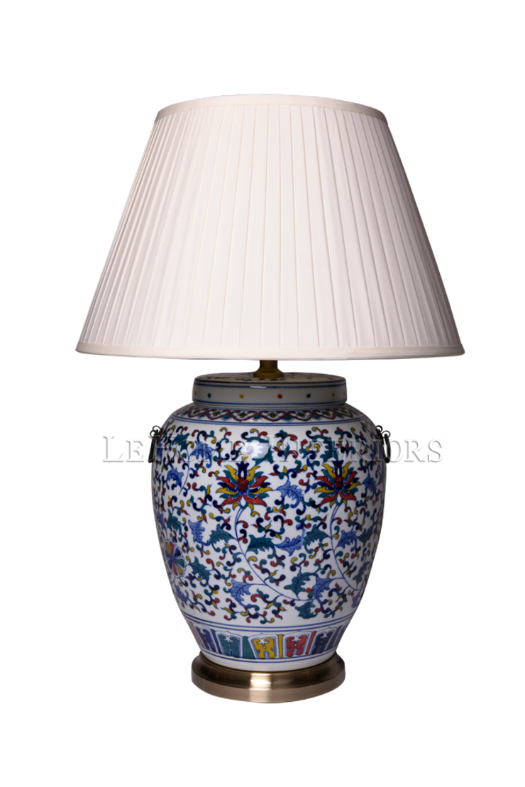 Лампа настольная F203 от LeHome Interiors Классический Керамика
