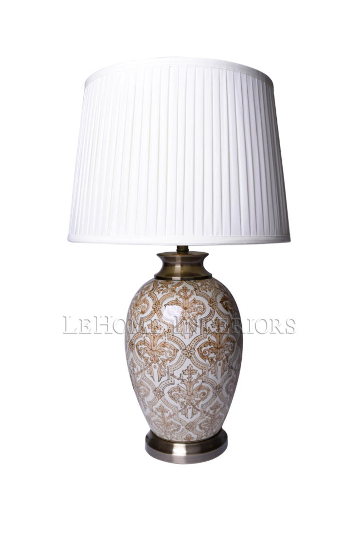 Лампа настольная F213 от LeHome Interiors Классический Керамика