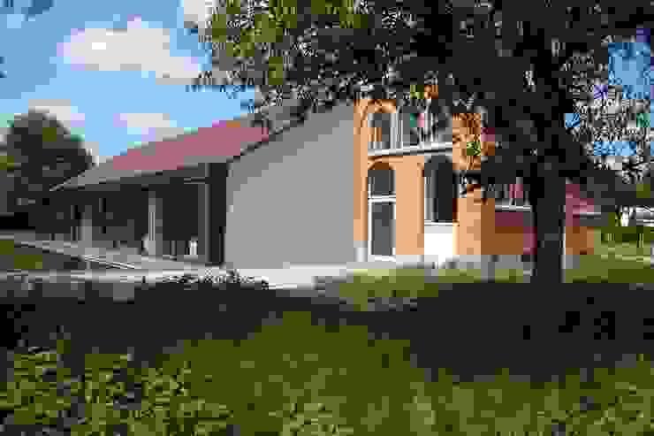Modern houses by DI-vers architecten - BNA Modern