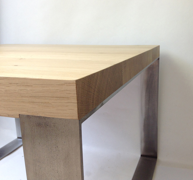 Studio OPEN DESIGN Living roomSide tables & trays Solid Wood