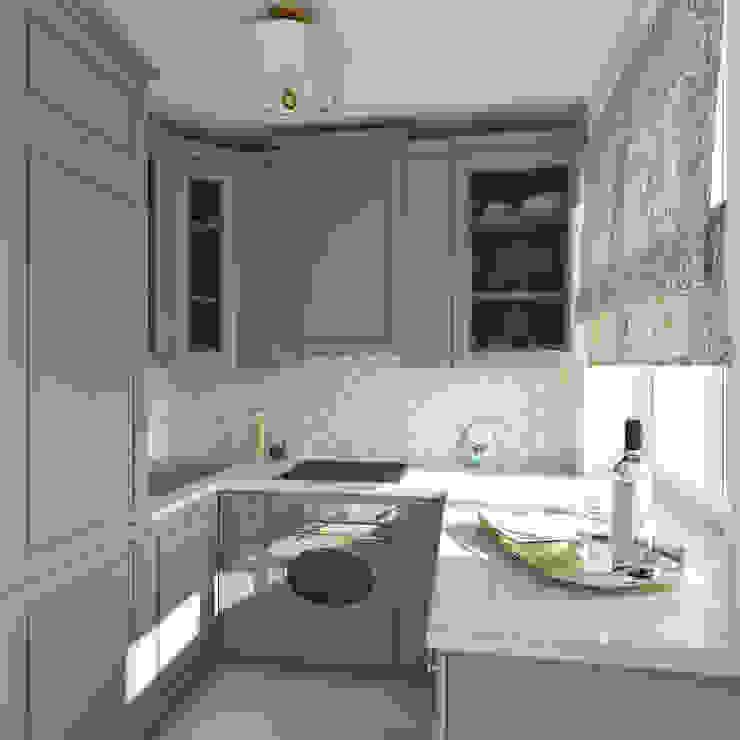 Неоклассика Cocinas de estilo clásico de Interiorbox Clásico