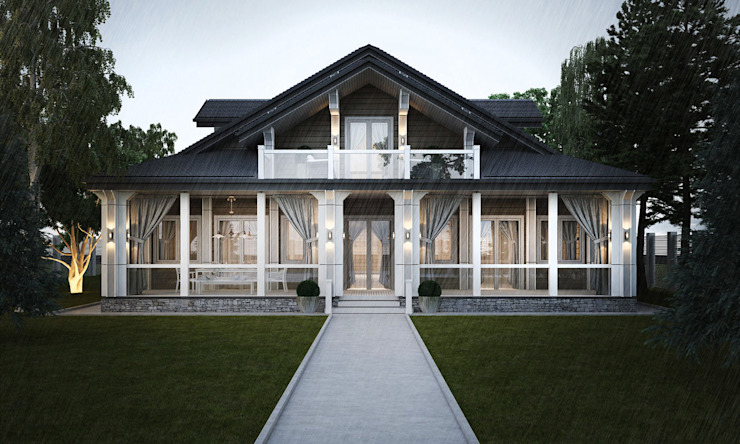 Classic style houses by Way-Project Architecture & Design Classic Wood Wood effect