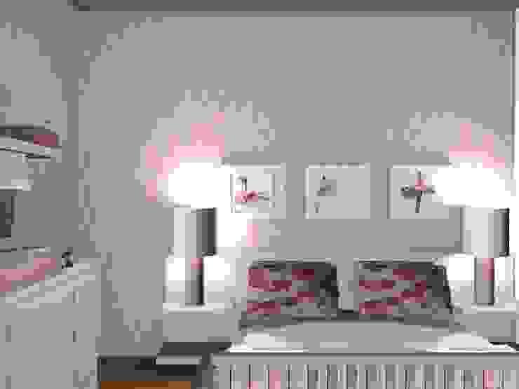 IT´S A GIRL 3 Quartos de criança clássicos por ANA LEITE - INTERIOR DESIGN STUDIO Clássico