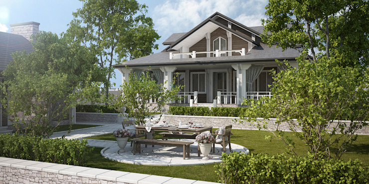 Way-Project Architecture & Design Classic style houses Wood White