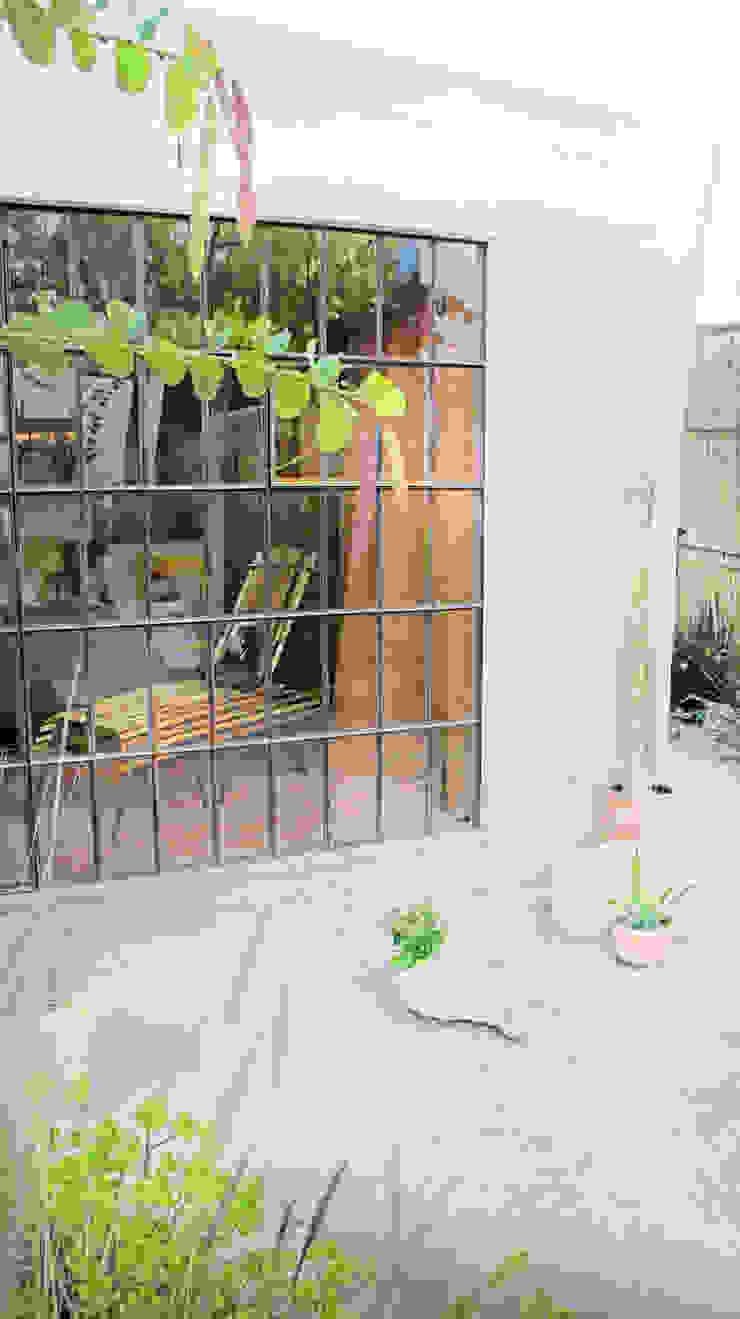 Modern balcony, veranda & terrace by Juan Carlos Loyo Arquitectura Modern