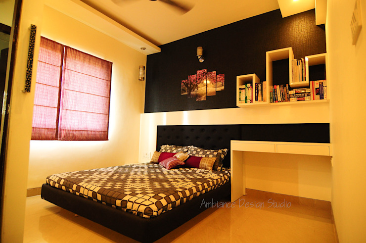 Mr Siddhart Shandilya Minimalist bedroom by Ambiance Design Studio Minimalist