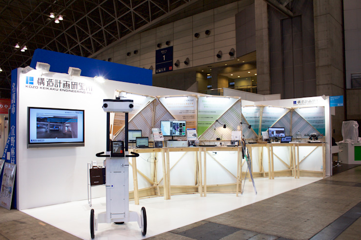 ceatec の Design of Engineering and Fabrication / wip モダン 木 木目調