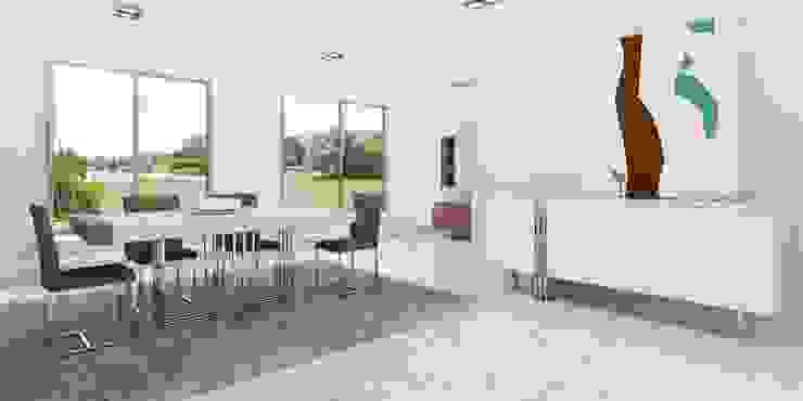 Mobiliário de sala de jantar por Intense mobiliário e interiores; Minimalista MDF