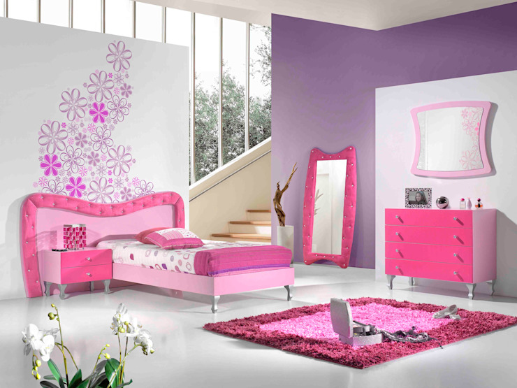 Intense mobiliário e interiores Nursery/kid's roomBeds & cribs MDF Pink