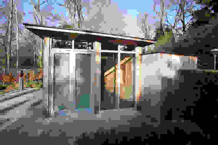 Atelier te Sittard Moderne studeerkamer van Joost Pennings Architect Modern Hout Hout