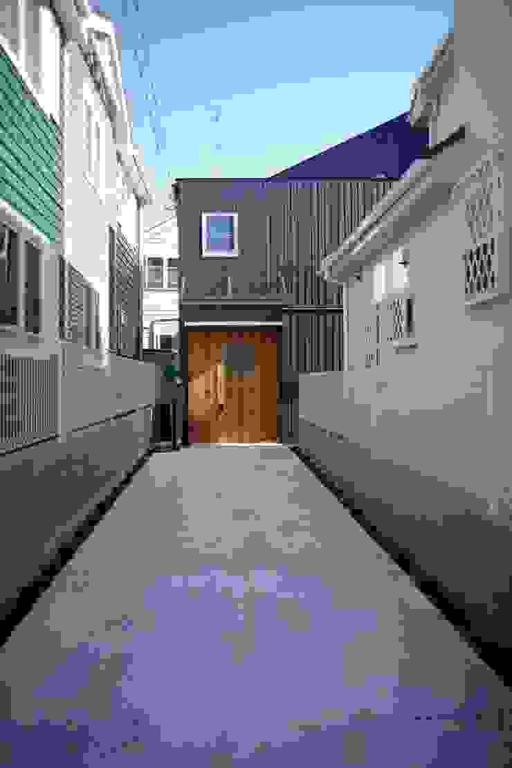 House in Aoba โดย シキナミカズヤ建築研究所 โมเดิร์น