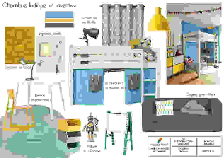 Modern Çocuk Odası Espaces à Rêver Modern