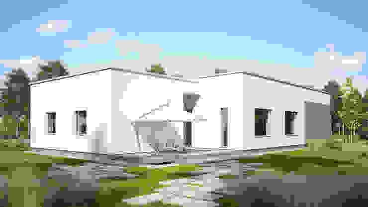 Maisons modernes par Majchrzak Pracownia Projektowa Moderne