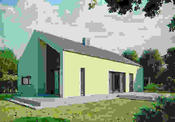 Projekty domów - House 13 Nowoczesne domy od Majchrzak Pracownia Projektowa Nowoczesny