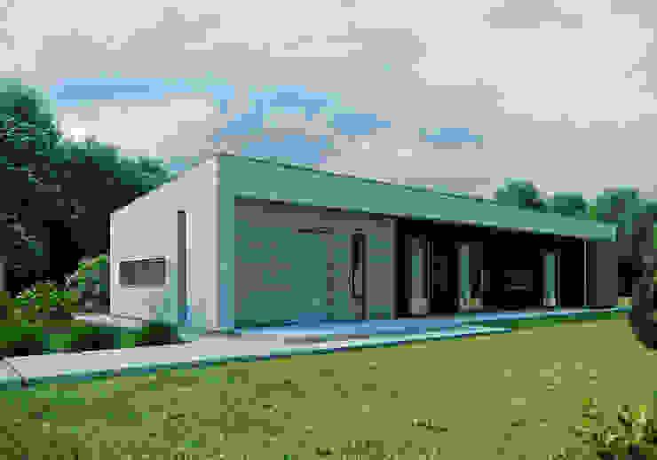 Moderne Häuser von Majchrzak Pracownia Projektowa Modern