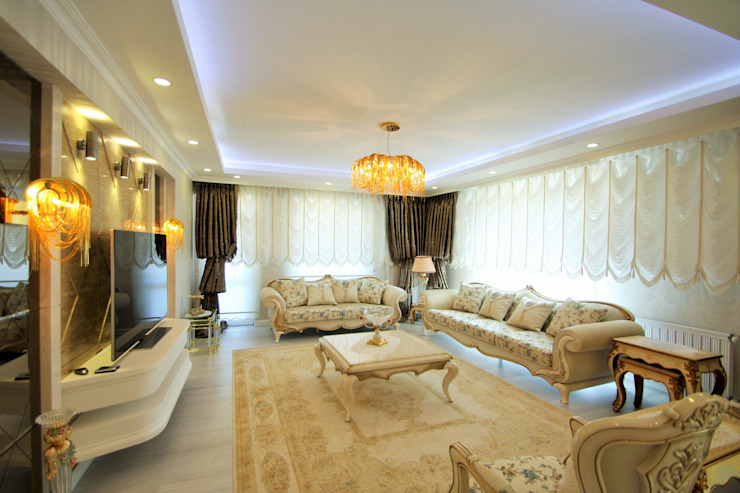 Apartment Murat Aksel Architecture Klasik Bakır/Bronz/Pirinç