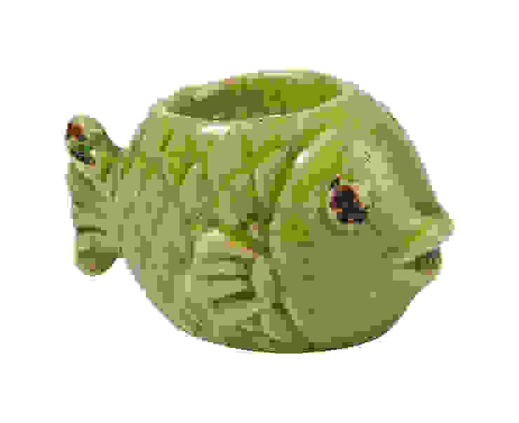 Подсвечник рыбка (для греющей свечи) H075 от LeHome Interiors Классический Керамика