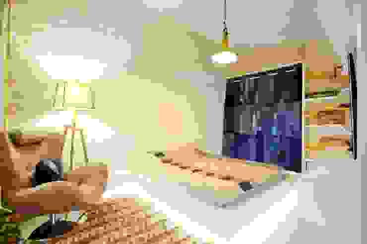 Murat Aksel Architecture – Apartment: modern tarz , Modern Taş