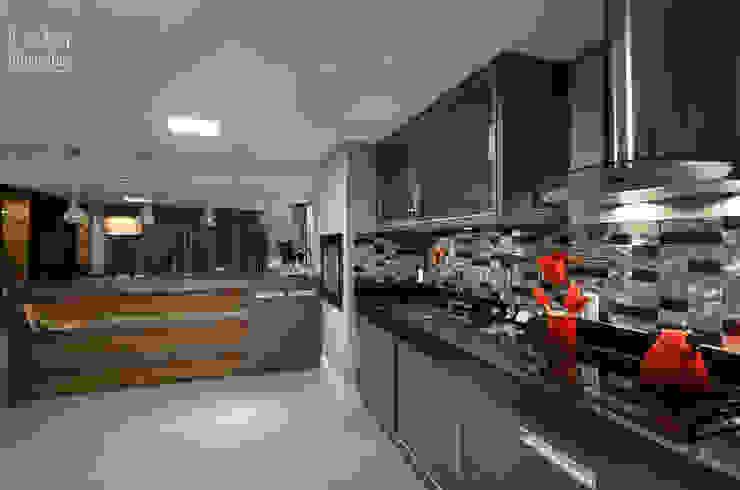 Apartamento EL Cozinhas modernas por Tamara Rodriguez Aquitetura Moderno