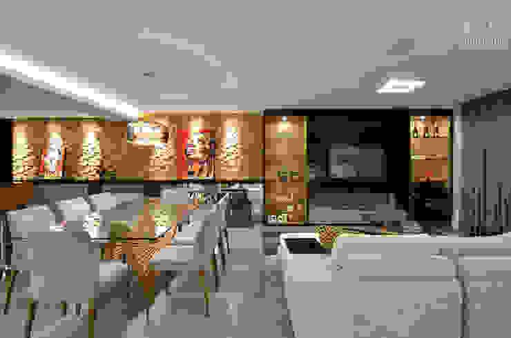 Apartamento EL Salas de estar modernas por Tamara Rodriguez Aquitetura Moderno