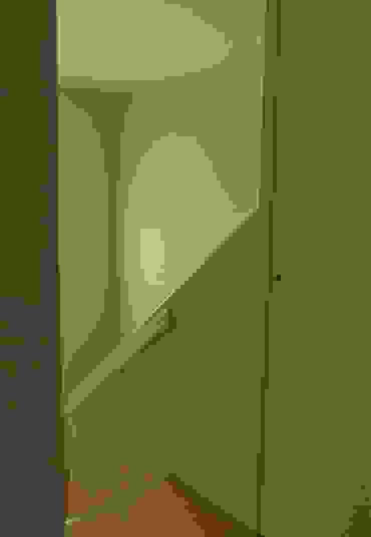 熱海・伊豆山の家 モダンスタイルの 玄関&廊下&階段 の 川口孝男建築設計事務所 モダン 木 木目調