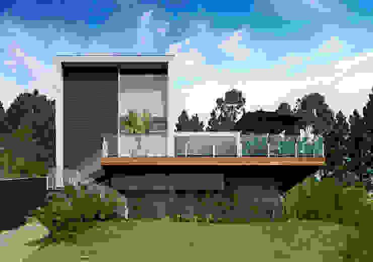 Casas de estilo  por Márcia Carvalhaes Arquitetura LTDA.