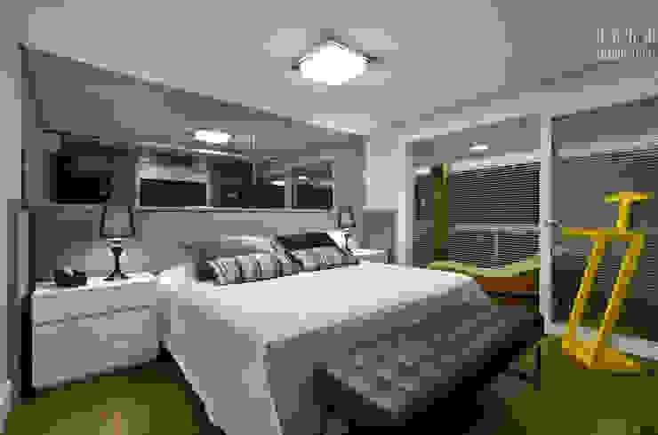 Apartamento EL Quartos modernos por Tamara Rodriguez Aquitetura Moderno