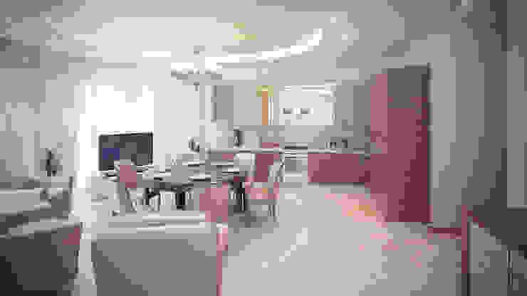 Квартира на Дубровке Кухня в классическом стиле от Ахитектурная студия B&partners Классический