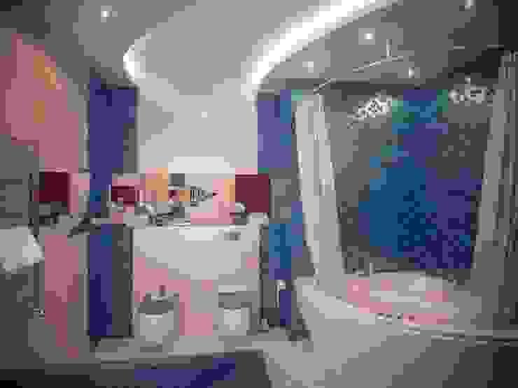 Квартира на Дубровке Ванная в классическом стиле от Ахитектурная студия B&partners Классический