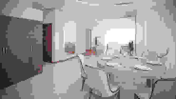 Квартира на Дубровке Гостиная в классическом стиле от Ахитектурная студия B&partners Классический